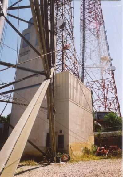 Western Union Tenley Site. Photo by David S. Rotenstein, 2002.