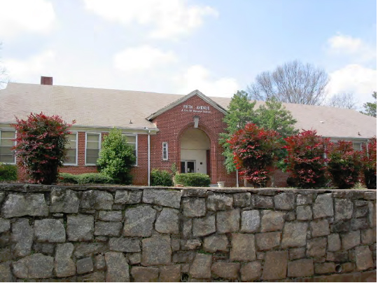 Fifth Avenue School (demolished 2010). Credit: City of Decatur 2009 Historic Resources Survey. Oakhurst inventory forms.