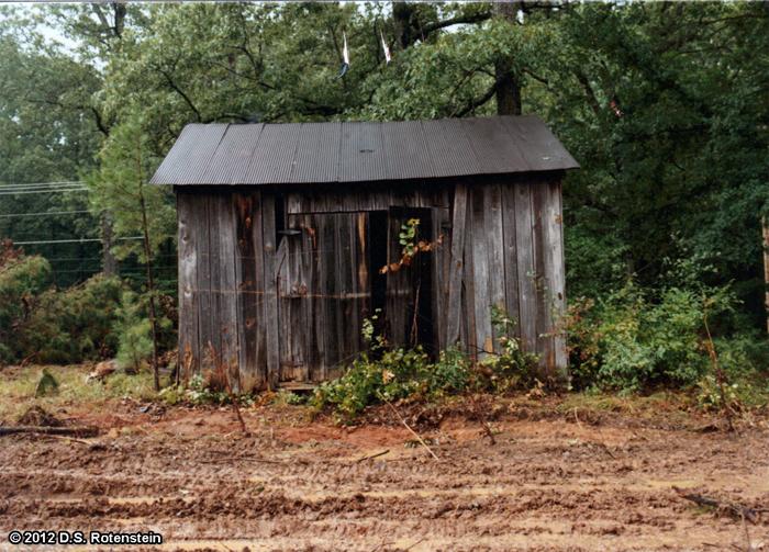Due West Road Blacksmith Shop (9Co246). October 1986.