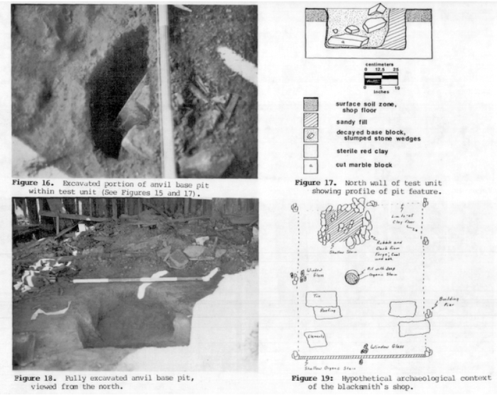 9Co246: Excavation photos and drawings. Credit: The Florida Anthropologist.