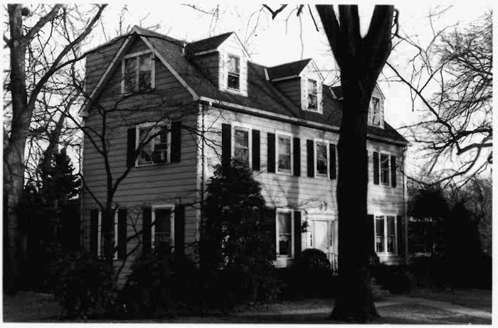 William Read House, c. 1993. Credit: M-NCPPC/Maryland Inventory of Historic Properties form.