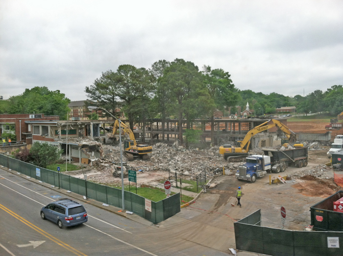 Demolition. May 1, 2013.