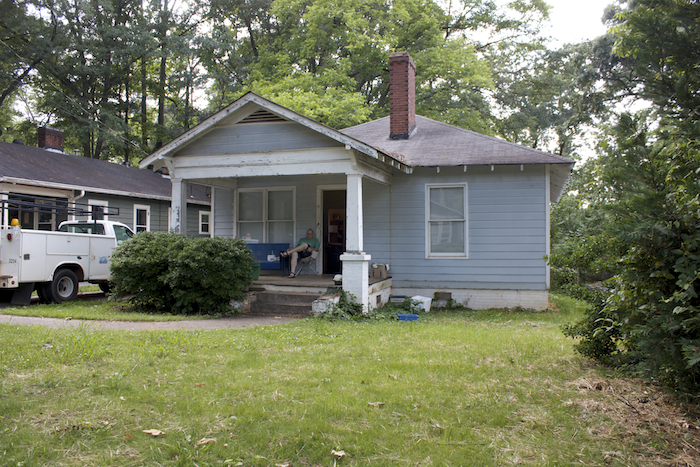 """This house is ultimately a teardown by definition, given what the neighborhood's done,"" said one of Decatur's original Urban Homesteading Demonstration Program homebuyers."