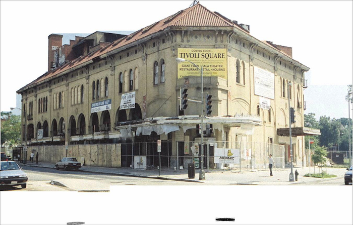 Tivoli Theater before rehabilitation. Credit: Horning Brothers.