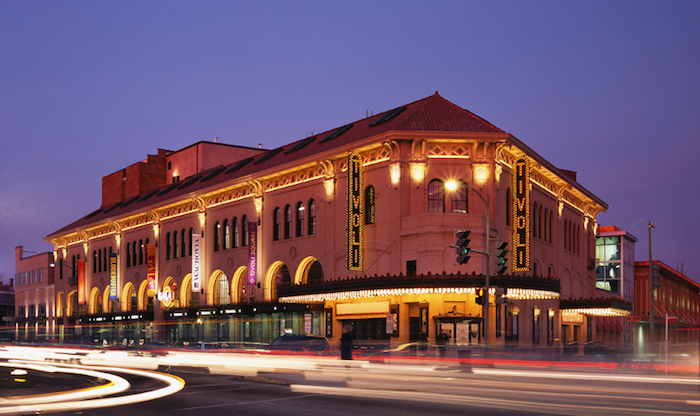 Tivoli theater after rehabilitation and redevelopment. Credit: Horning Brothers.