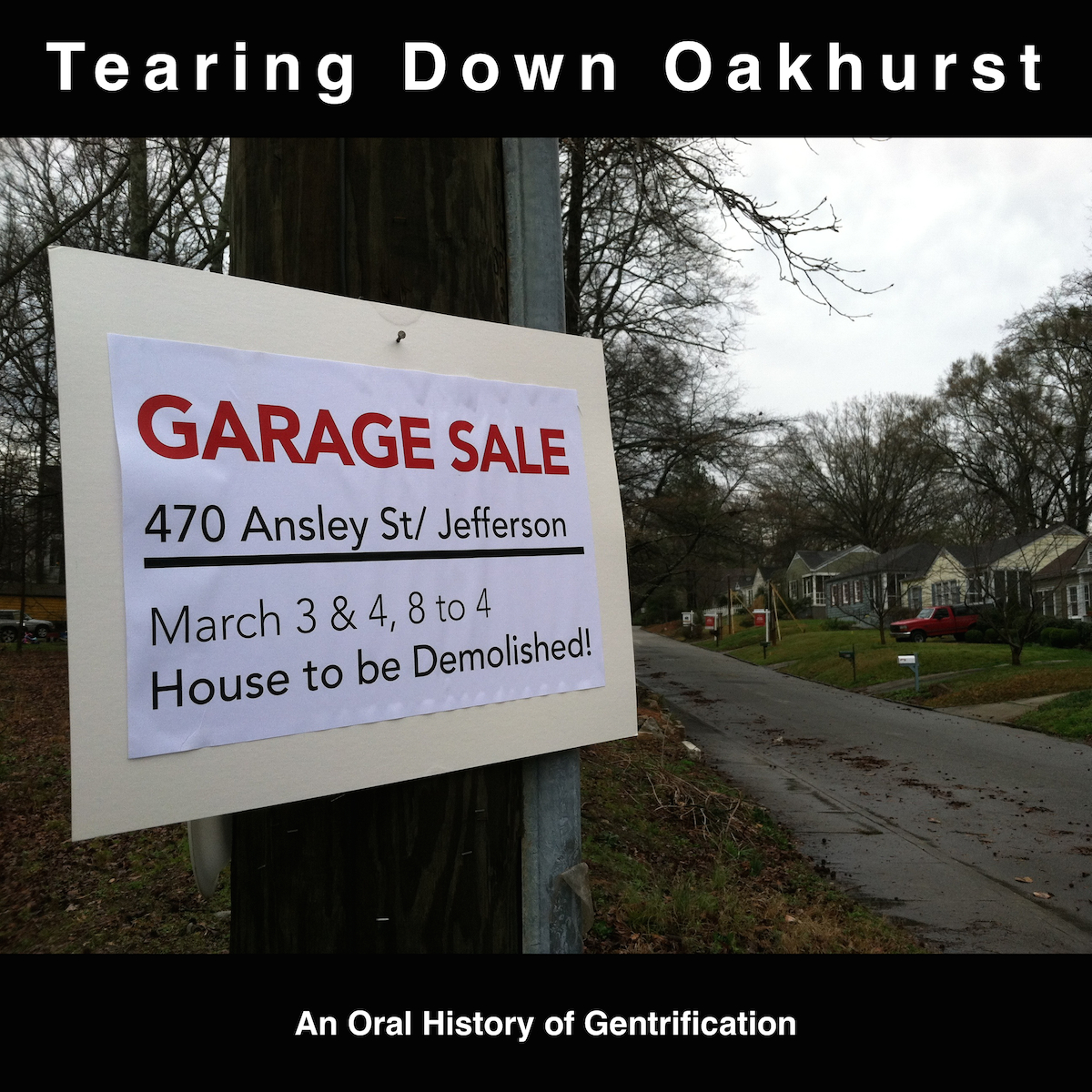 Tearing Down Oakhurst documentary video