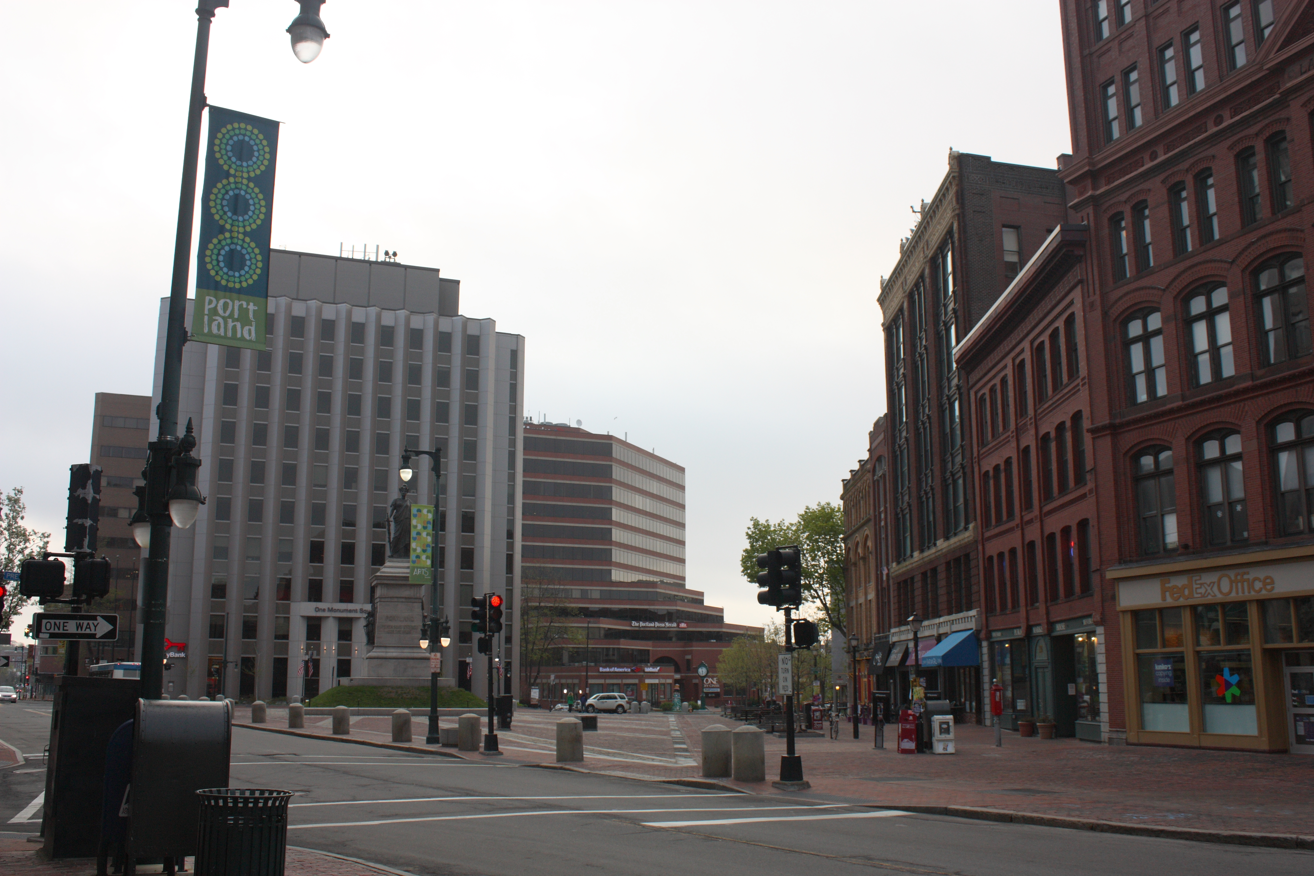 Monument square, May 2014.