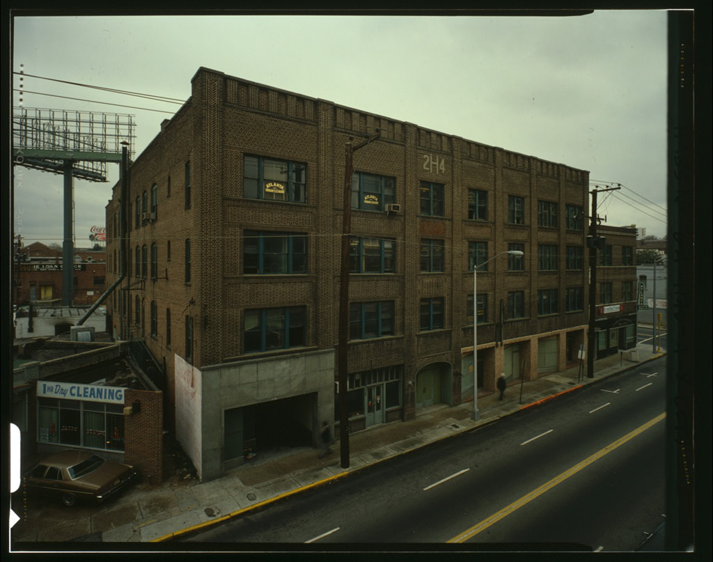 Herndon & Atlantic Life Building, 229-243 Auburn Avenue, Atlanta, Fulton County, GA. HABS GA-1170-A. Library of Congress:  http://www.loc.gov/pictures/item/ga0208.color.572056c/