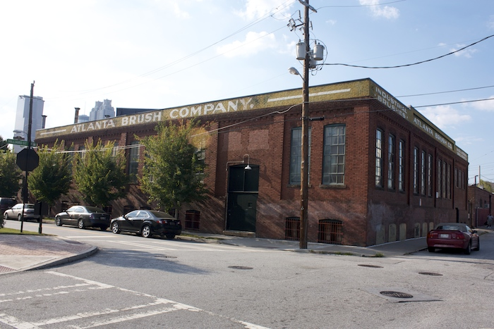 Original Trio Steam Laundry Company building (built 1905) at 19 Hilliard Street.