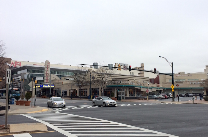 AFI Silver Theatre and Silver Spring Shopping Center.