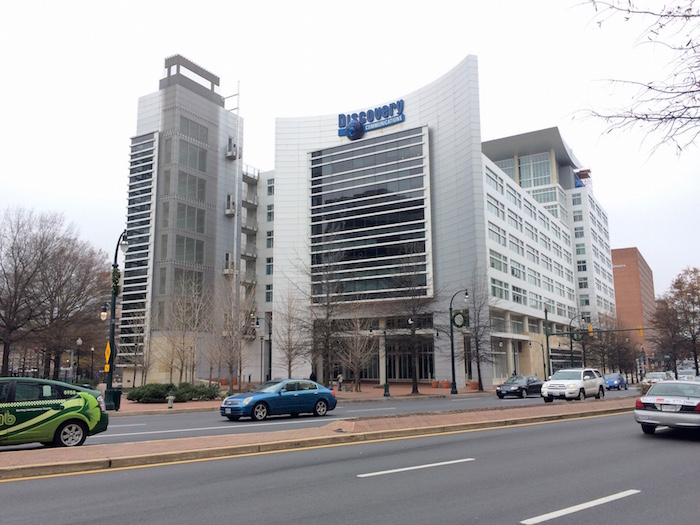 Discovery Communications headquarters building, Silver Spring, 2014.