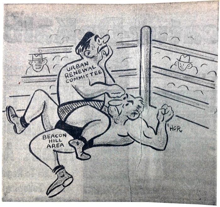 """""""The Big Fight."""" Decatur-DeKalb News, July 28, 1960."""