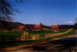 Former slave cabins, Rappahannock County, Va.