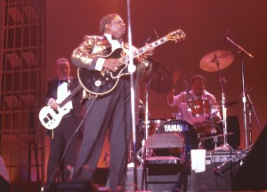 B.B. King in Atlanta, June 1991. Photo by the author.