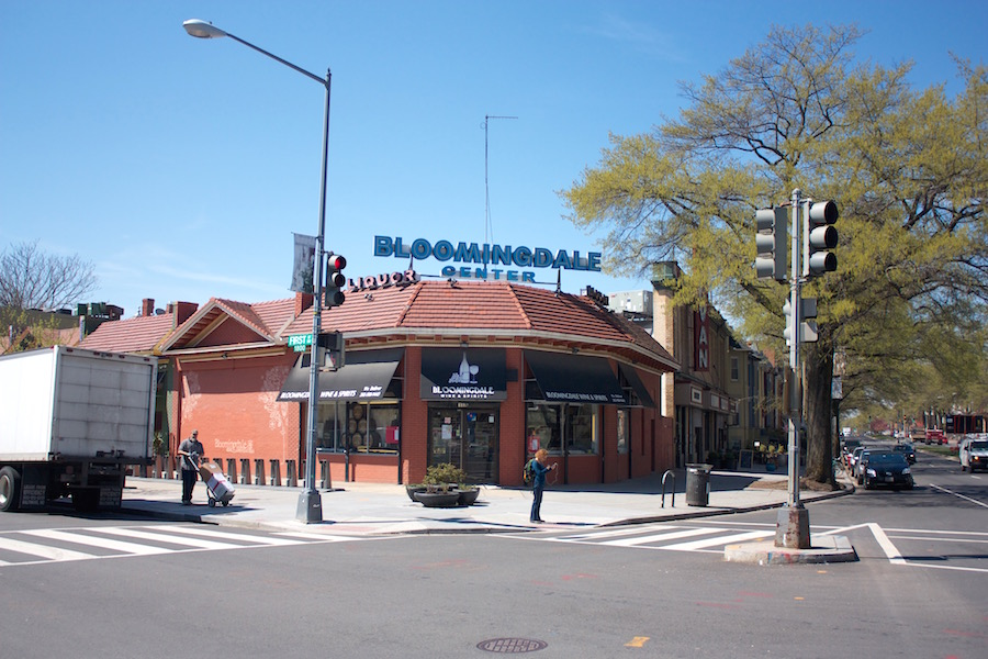 Bloomingdale Center, First and T streets, NW.