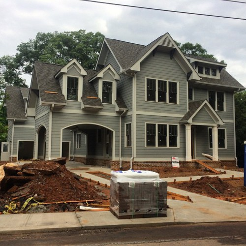 New home, 400 block Fayetteville Rd., 2015.