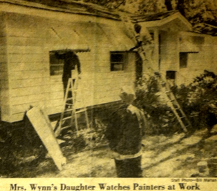 Undated newspaper clipping in private collection, Decatur, Ga.