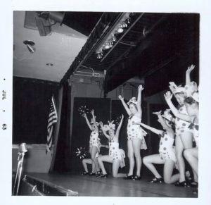 Alexander School production, c. 1963. Photo courtesy Kaye Giuliani.