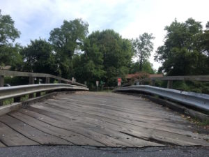 Talbot Avenue Bridge deck, August 2016.